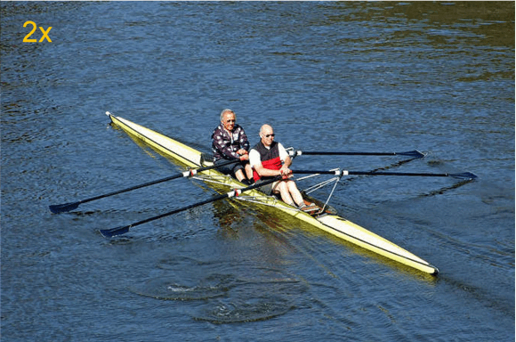Figure 2 - Double scull