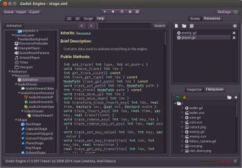 Рисунок 1. У движка Godot собственный скриптовый язык, похожий на Python, и называемый GDScript. Это высокоуровневый, динамически типизируемый язык.