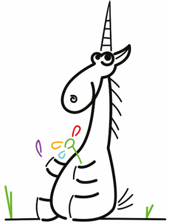 Figure 1. Unicorn is trying to tell fortunes, if the class member is initialized or not.