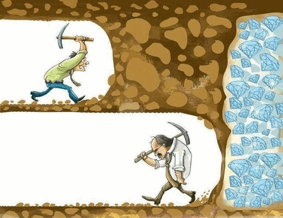 Figure 7. Never give up!