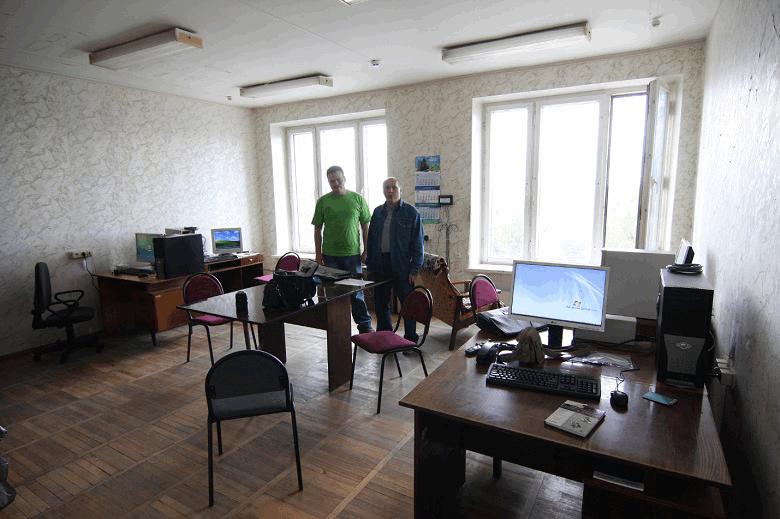 """Рисунок 5. ООО """"СиПроВер"""", 2008 год. Первый день в первом собственном офисе. Для увеличения можно нажать на картинку."""