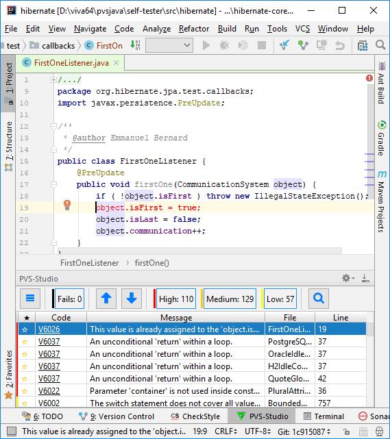 Development of a new static analyzer: PVS-Studio Java