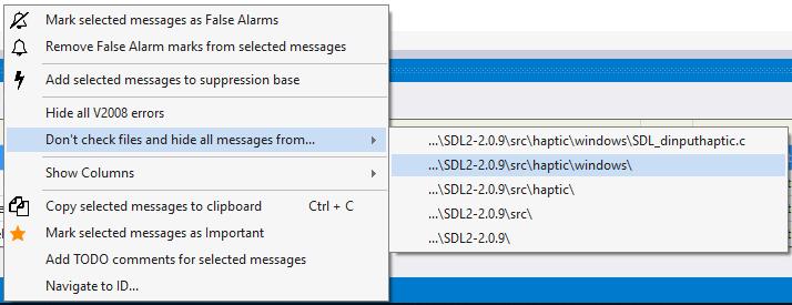 Рисунок 6. Исключение файлов из проверки. Нажмите на рисунок для его увеличения.