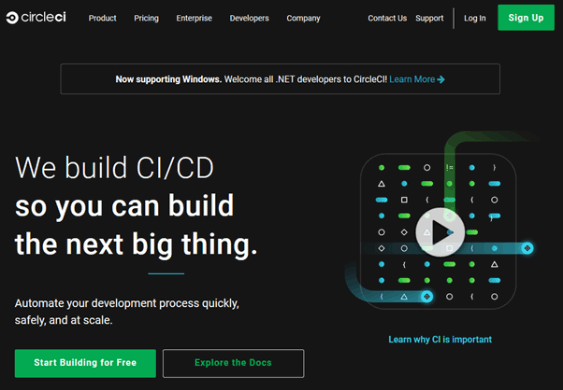 CircleCI Sign up