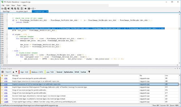 Рисунок 4 - Результаты работы сервера мониторинга и статического анализатора